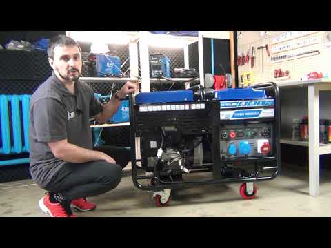 Видеообзор бензогенератор TSS SGG