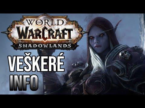 VŠE co víme o nejnovější expanzi do World of Warcraft!! | WoW Shadowlands