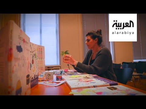 العرب اليوم - شاهد الأردنية ليلى محارب لتبسيط مفاهيم رمضان والعيد للأطفال المسلمين في الدنمارك
