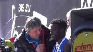 ÖM Halbmarathon Graz 2017 - Interview Lemawork Ketema