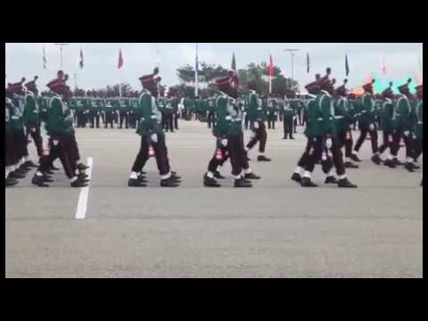Nigerian Defence Academy Passing Out Parade 2018
