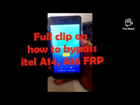 itel A14 FRP UNLOCK SC7731E - смотреть онлайн на Hah Life