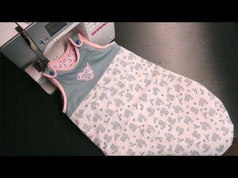 click & create #3: Kuscheliger Baby-Schlafsack