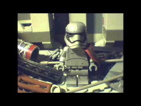 Lego Star Wars The Force Awakens: What happened with the Captain Phasma