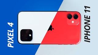 Pixel 4 vs iPhone 11 Pro: os reis das câmeras lado a lado