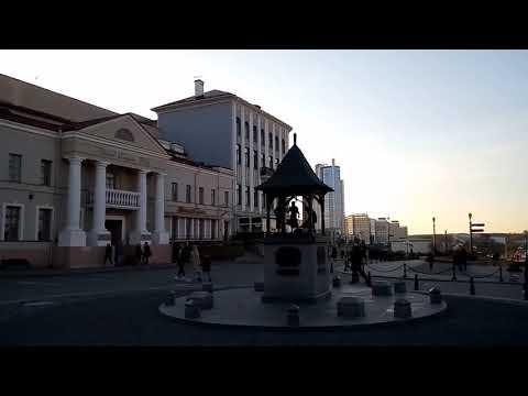 Минские улицы. Городская ратуша. Музыканты