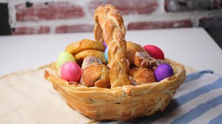 How To Make An Edible Easter Gift Basket • Tasty Recipes