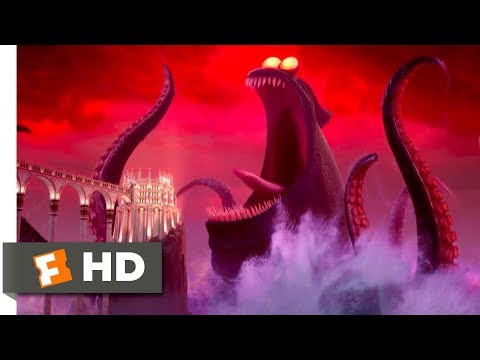 Hotel Transylvania 3 (2018) - Dracula vs. the Kraken Scene (9/10) | Movieclips