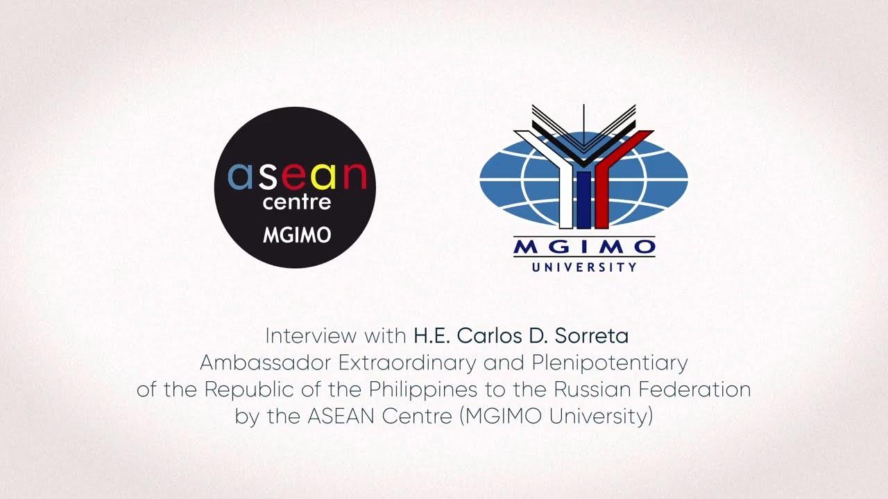 Interview with H.E. Carlos D. Sorreta