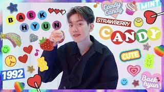 BAEKHYUN 백현 #큥터뷰, so sweet like CANDY 🍭c('ㅅ'🍬c)