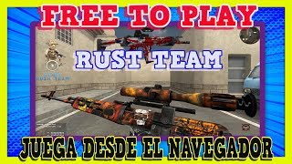 GRATIS DESDE EL NAVEGADOR 👉 RUSH TEAM 👈 FREE FPS MULTIPLAYER | SIN DESCARGAR | SHOOTER