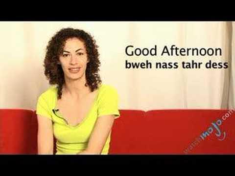 Language Translation Spanish:Good Afternoon