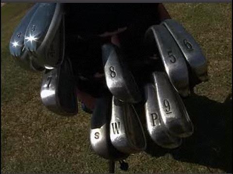 Cómo identificar los golpes de golf