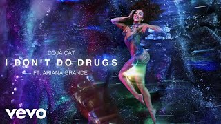 Doja Cat - I Don't Do Drugs (Visualizer) ft. Ariana Grande