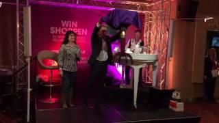 Goochelaar Ronald Moray & Frank Wilson Holland Casino Eindhoven