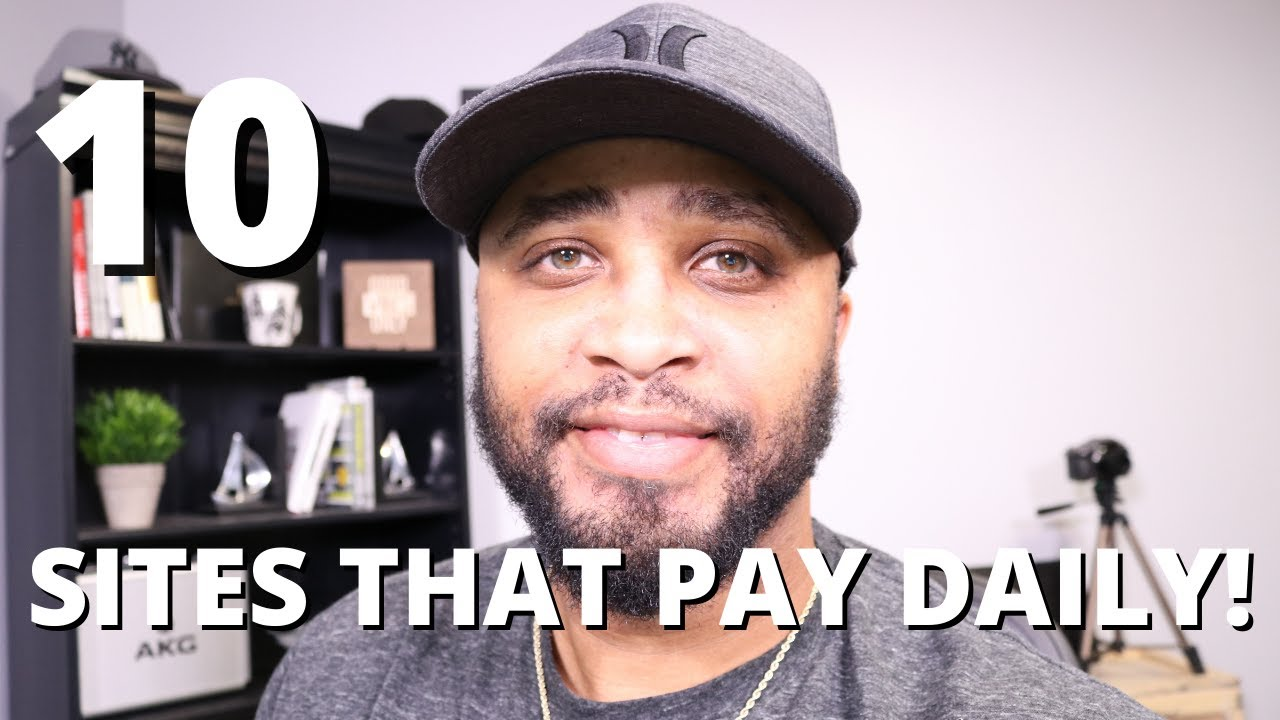 10 Sites That Will Pay You DAILY! (Easy Work from House Jobs No Experience.) thumbnail