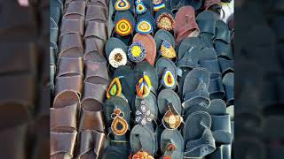 Viatu vya Kimasai... /African cultural shoes..