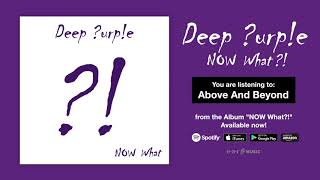 "Deep Purple ""Above And Beyond"" Official Full Song Stream - Album NOW What?! OUT NOW!"