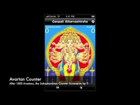 Video of iChant Ganpati Atharvashirsha