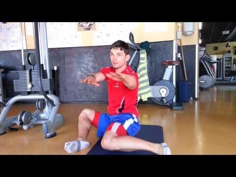 Muskelkater des Halses und des oberen Rücken