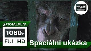 Válka o planetu opic (2017) spec. ukázka CZ HD  Kdo je to dítě?