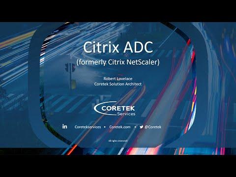 Managed Citrix ADC (formerly NetScaler)
