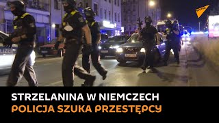 Uzbrojeni policjanci szukają przestępcy po strzelaninie-Trzy osoby zostały ranne w strzelaninie w klubie sziszy w berlińskiej dzielnicy Wedding