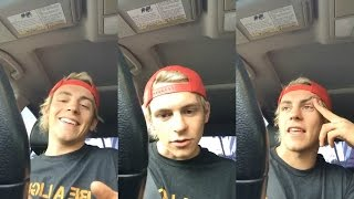 Ross Lynch  | Instagram Live Stream | 17 May 2017