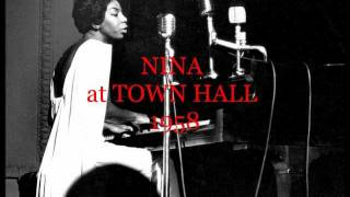 FINE AND MELLOW -- NINA SIMONE -- (with lyrics)