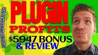 Plugin Profits Review, Demo, $5947 Bonus, PluginProfits Review