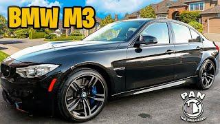 BMW M3 :  FULL DETAIL OF A BLACK CAR