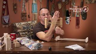 Loom Construction  Ojibwa Bead Loom