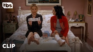 Friends: Monica And Phoebe Try An As-Seen-On-TV Waxing Kit (Season 3 Clip) | TBS
