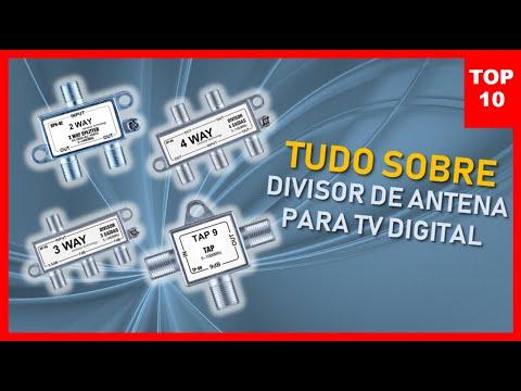 DIVISOR DE ANTENA PARA TV DIGITAL