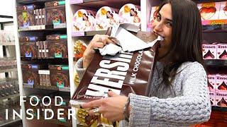 Big Candy Bars At Hersheys Chocolate World