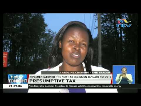 Implementation of the new presumptive tax to begin on January 1st, 2019
