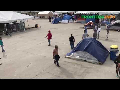 Se preparan centroamericanos para desalojar El Barretal