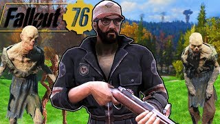 PVP AND ZOMBIE HORDE SURVIVAL! - Fallout 76 PC Beta Highlights Gameplay (FO76)