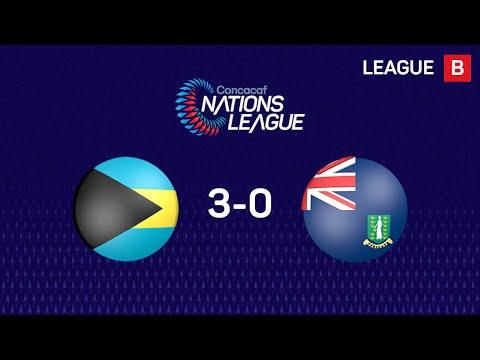 Bahamas - Британские Виргинские острова 3:0. Видеообзор матча 15.11.2019. Видео голов и опасных моментов игры