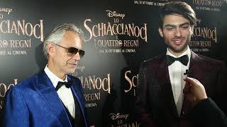 """Matteo e Andrea Bocelli: """"Lavorare insieme? Un sogno"""""""