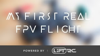 """My first real FPV flight!"" - Transition from Liftoff to Reality... - LRC FREESTYLE QUAD"