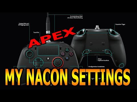 Nacon Revolution Unlimited and Apex Legends: how best to