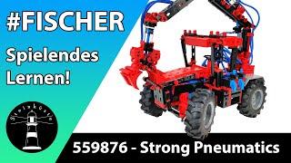 FINALE Fischertechnik 559876 - Strong Pneumatics - Baumstammgreifer