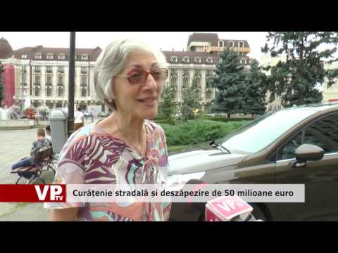 Curățenie stradală și deszăpezire de 50 milioane euro