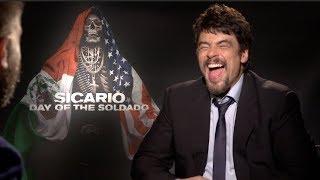 SICARIO: DAY OF THE SOLDADO interviews - Benicio Del Toro and Josh Brolin