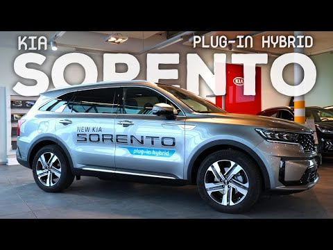 New Kia Sorento Plug-in Hybrid 2021