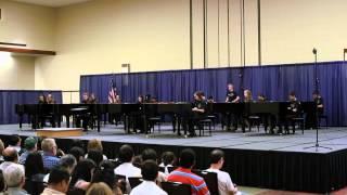 """Finale"" by Wellingford Riegger - Denton Middle School Ensemble at TMTA 2013"