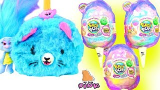 ПИТОМЦЫ В САХАРНОЙ ВАТЕ! Pikmi Pops Pikmi Flips Surprise Cotton Candy Мультик #Тролли #Trolls