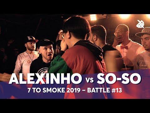 ALEXINHO vs SO-SO   Grand Beatbox 7 TO SMOKE Battle 2019   Battle 13