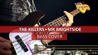 The Killers - Mr. Brightside / Bass Cover / Playalong With TAB